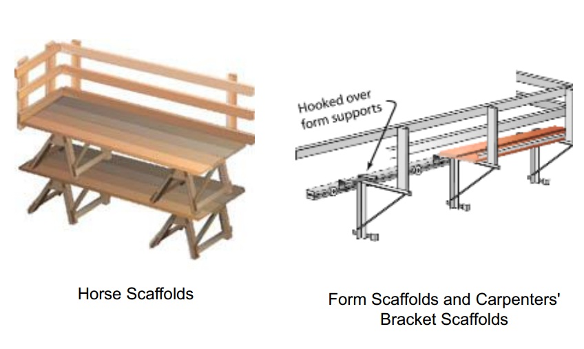horse scaffolds