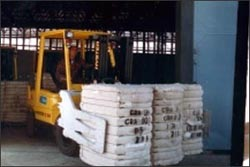 carton clamp forklift