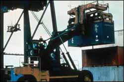reach stacker container