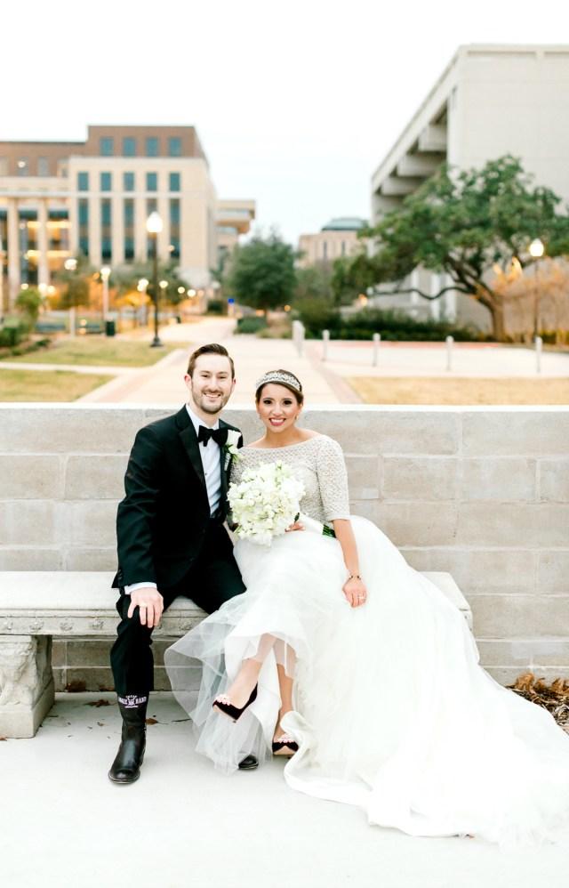 texas a&m hotel wedding | ale + jayton • kati hewitt photography