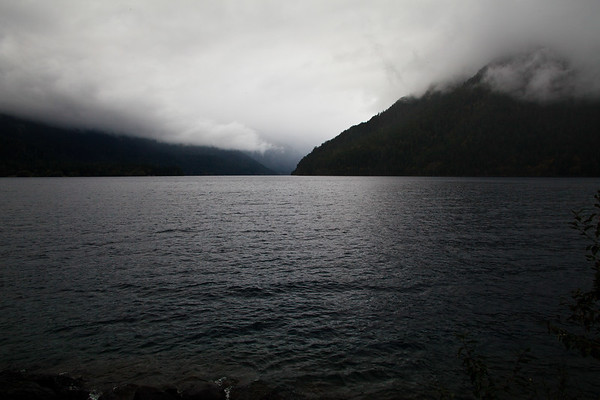 Lake Crescent On the Olympic Peninsula, Washington, USA © 2010 Nick Katin