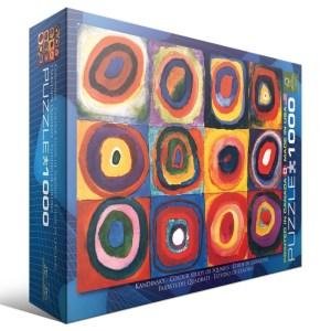 kandinsky modern art puzzle