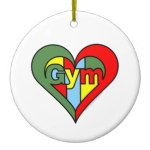 gym_heart_christmas_tree_ornament