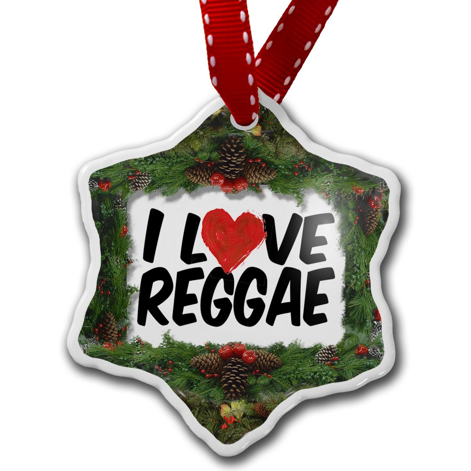 Reggae Christmas Ornaments - celebrating Bob Marley - Katinka's ...