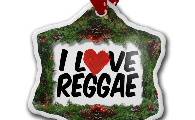 Reggae Christmas Ornaments – celebrating Bob Marley