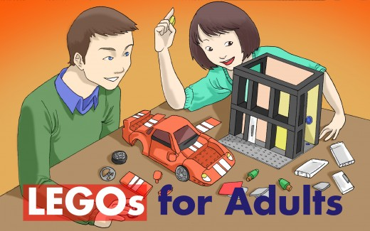 LEGOS For Adults: Lego sets for Grown Ups for Christmas