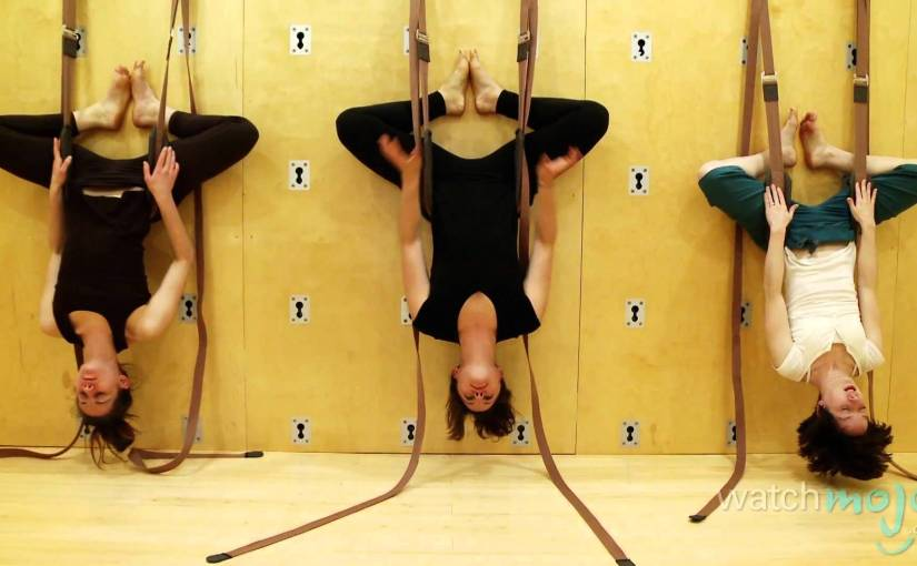Great Yoga Wall vs  Yoga Swing/Sling for Inversion yoga