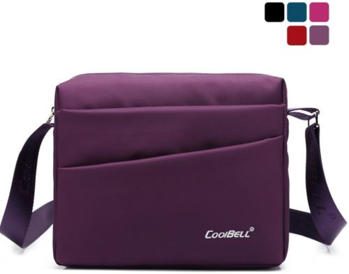 CoolBell(TM)10.1 inches Unisex Laptop Shoulder Bag Waterproof Oxford Bag Messenger Bag