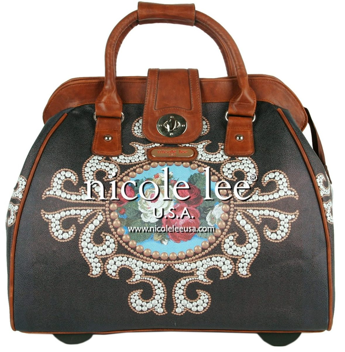 Cute wheeled laptop bags, rolling luggage for women
