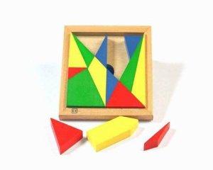 Archimedes Square Stomachion Puzzle