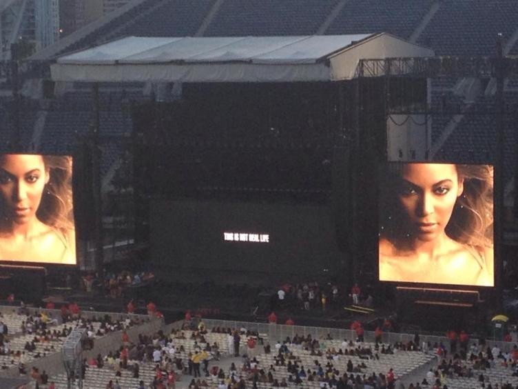 Beyonce OTR Concert