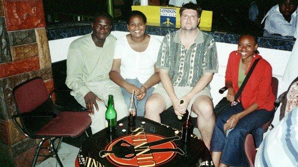 Me, Richard, Nneka, and Dolphyne