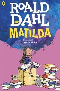 Matilda by Roald Dahl Book Cover