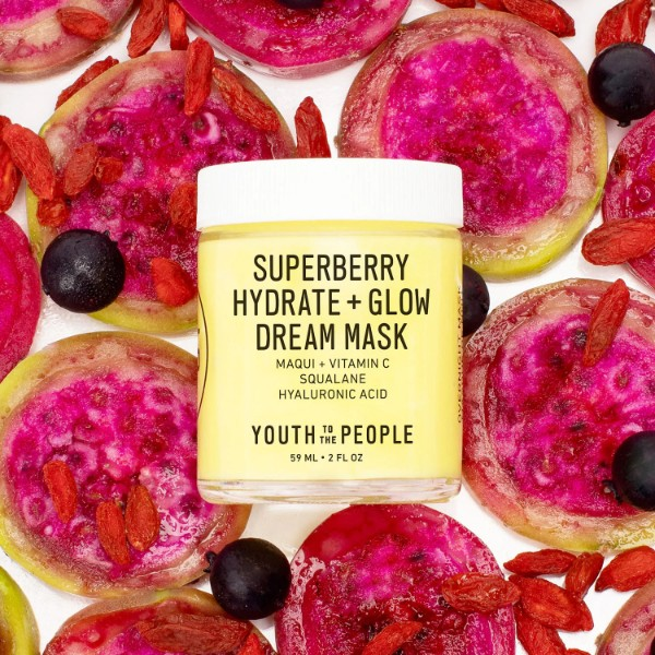 Youth to the People Superberry Hydrate and Glow Dream Mask