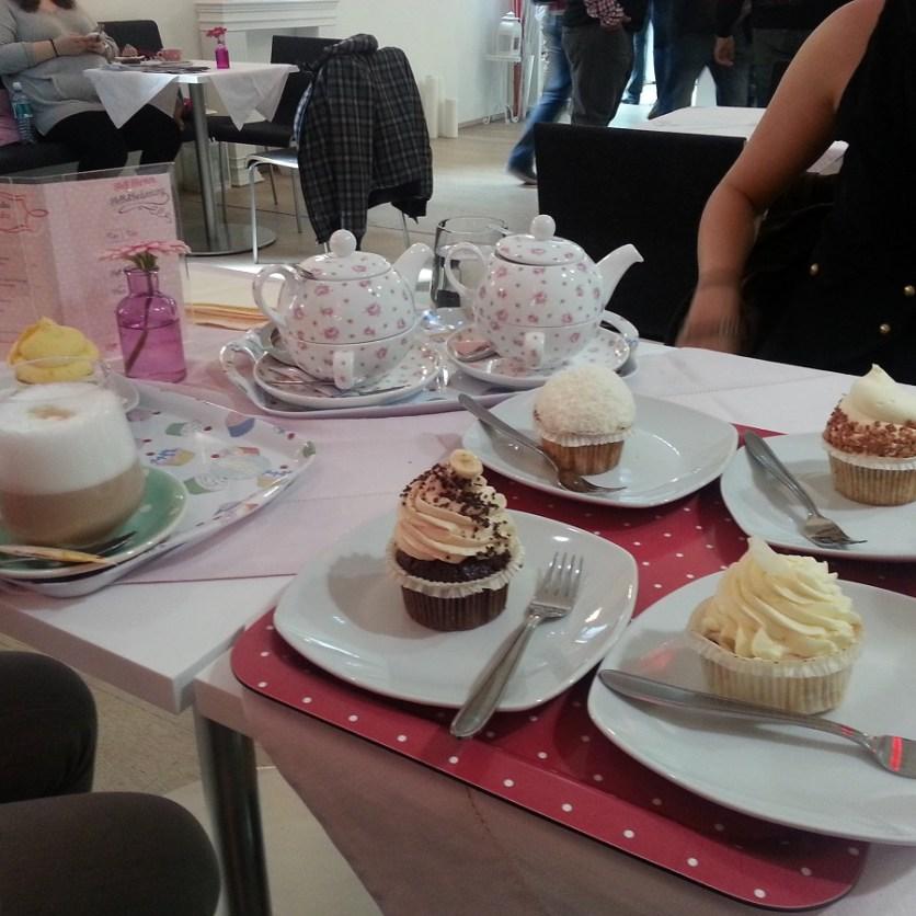 Cupcakes im Café im mumok - lecker!