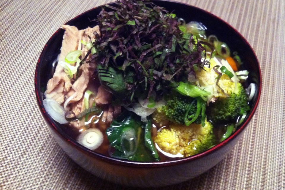 japanische Ramen Nudelsuppe - der perfekte Mitternachts-Snack