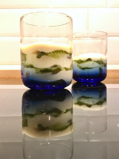 Matcha-Tiramisu im Glas: der Abschluss meines italienischen Menüs