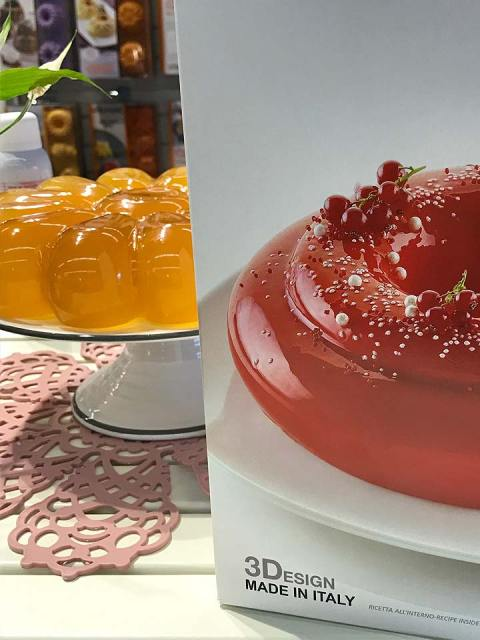 3D-Backformen für Torten und Desserts in Bubble-Form.