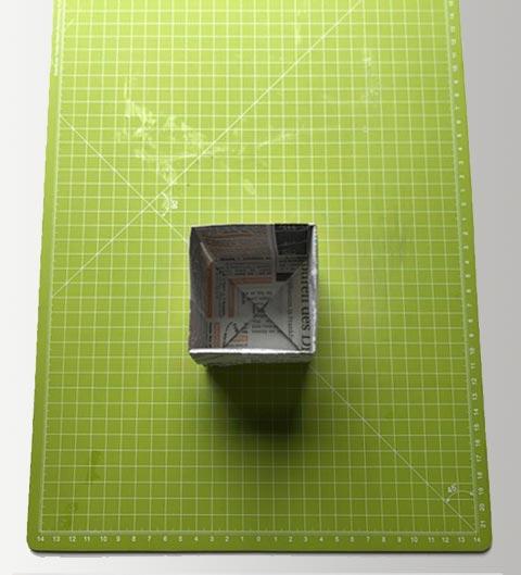Origmi: Umdehen - die Box ist fertig!