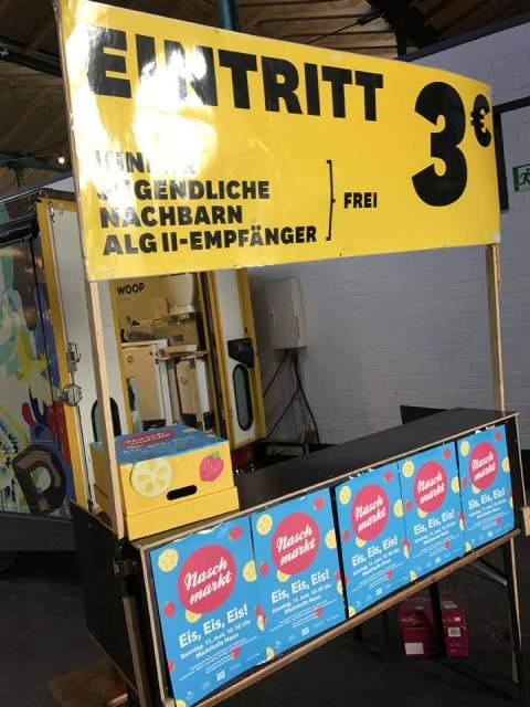 Eis, Eis, Eis! Auf zum Sommer-Naschmarkt in der Markthalle Neun.