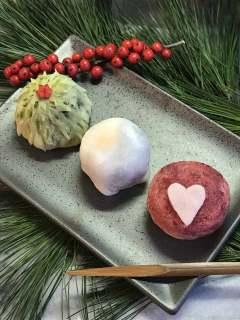 Sind so süß die Weihnachts-Mochi