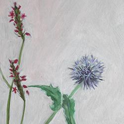 olieverfschilderij bloemen en planten
