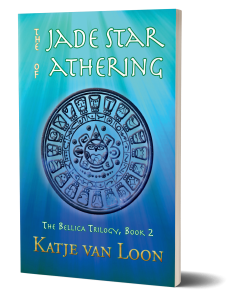 Book Cover: The Jade Star of Athering (The Bellica Trilogy #2)