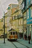 running after the tram