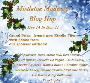 Mistletoe Madness blog hop 2012