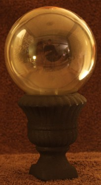 Crystal Ball--looks better in person, really cool