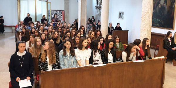 Svečana proslava dana škole Klasične gimnazije Ivana Pavla II. u Zadru