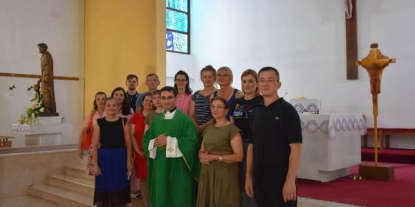 """Duhovno rekreativni """"peregrinatio"""" djelatnika Katoličke gimnazije iz Požege u Karlovac"""