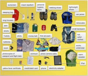 Gorilla Trekking Packing List