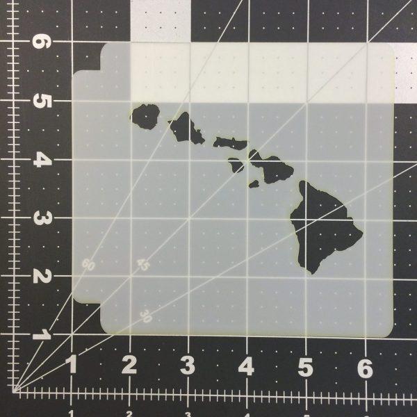 Hawaii 100 Stencil