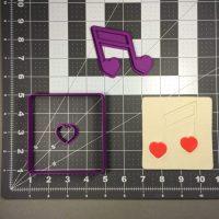 Wedding Music 100 Cookie Cutter Set