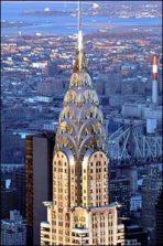 Chrysler Building, New York, at night