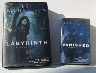 Labyinth hardcover and Vanished mmpb