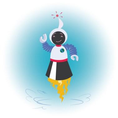 Big Sister Robot Character Design