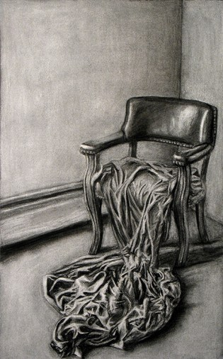 Still Life Charcoal Drawing