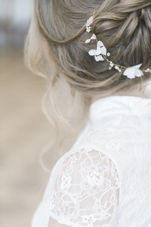 wedding bridal hair vine