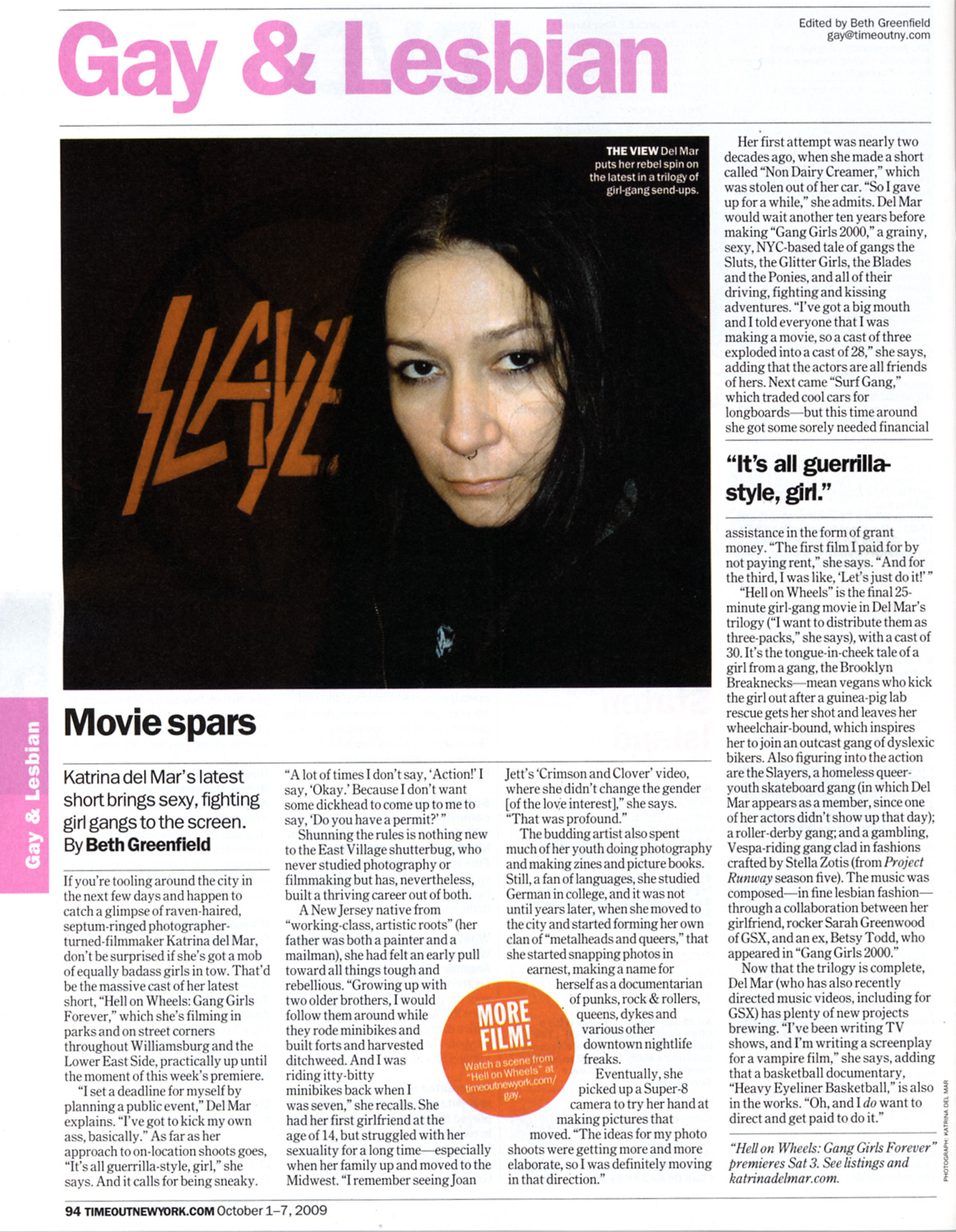 Katrina del Mar interviewed in Time Out NY