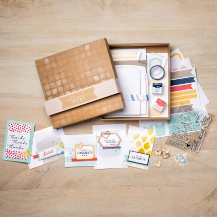 Watercolour Wishes Card Kit - Stampin' Up!