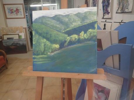 Acrylic on canvas 40 x 40 cms 65 euros