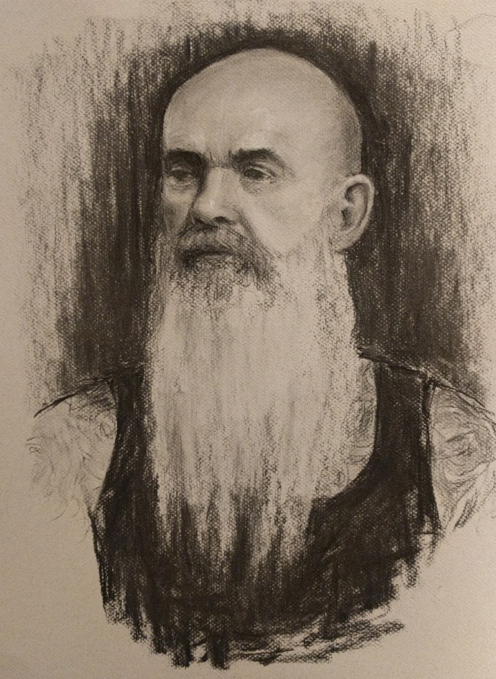 Charcoal Portraiture part 2