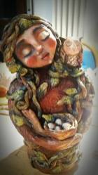 Mother Nature (paperclay)
