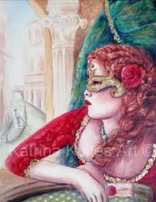 The mask of venice