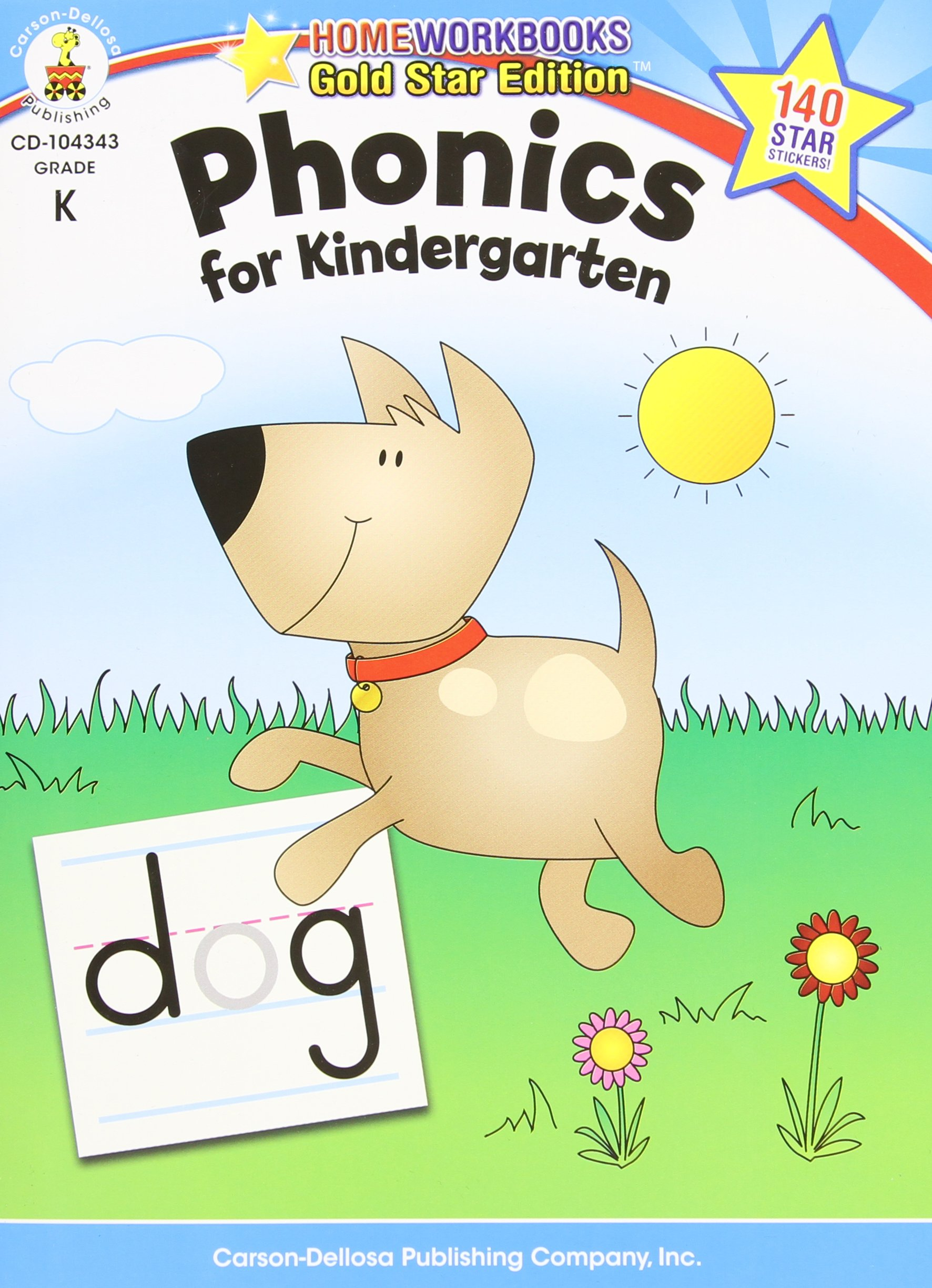 Phonics For Kindergarten Workbook Review