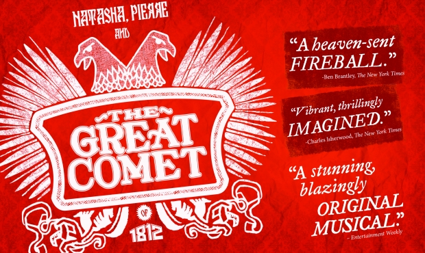 Back in The Great Comet!
