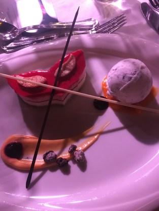 Das Dessert - ein optisches Highlight