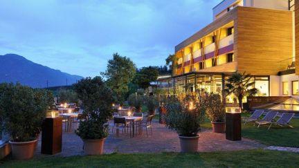 Hotel Pazeider -Abendstimmung